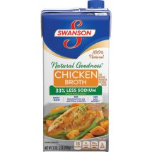 Swanson Natural Goodness Chicken Broth, 32 oz.