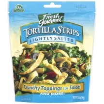 Fresh Gourmet Lightly Salted Tortilla Strips, 3.5 oz