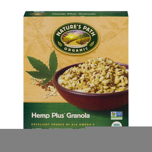 Nature's Path Organic Hemp Plus Granola Cereal