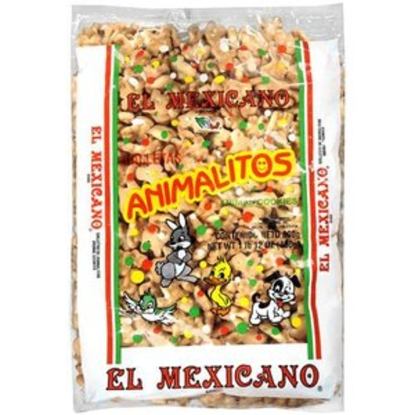 El Cazo Mexicano Animalitos Animal Cookies