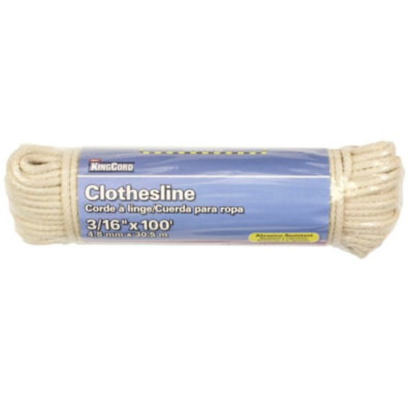 Mibro King Cord Clothesline Ply 3/16