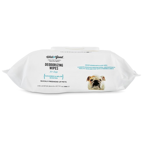 Well & Good Deodorizing Wipes