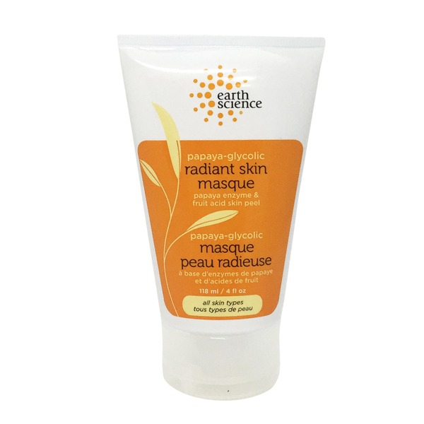 Earth Science Naturals Papaya-Glycolic Radiant Skin Masque
