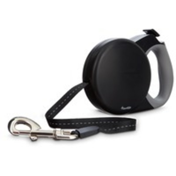 Good2 Go Retractable Black Dog Leash