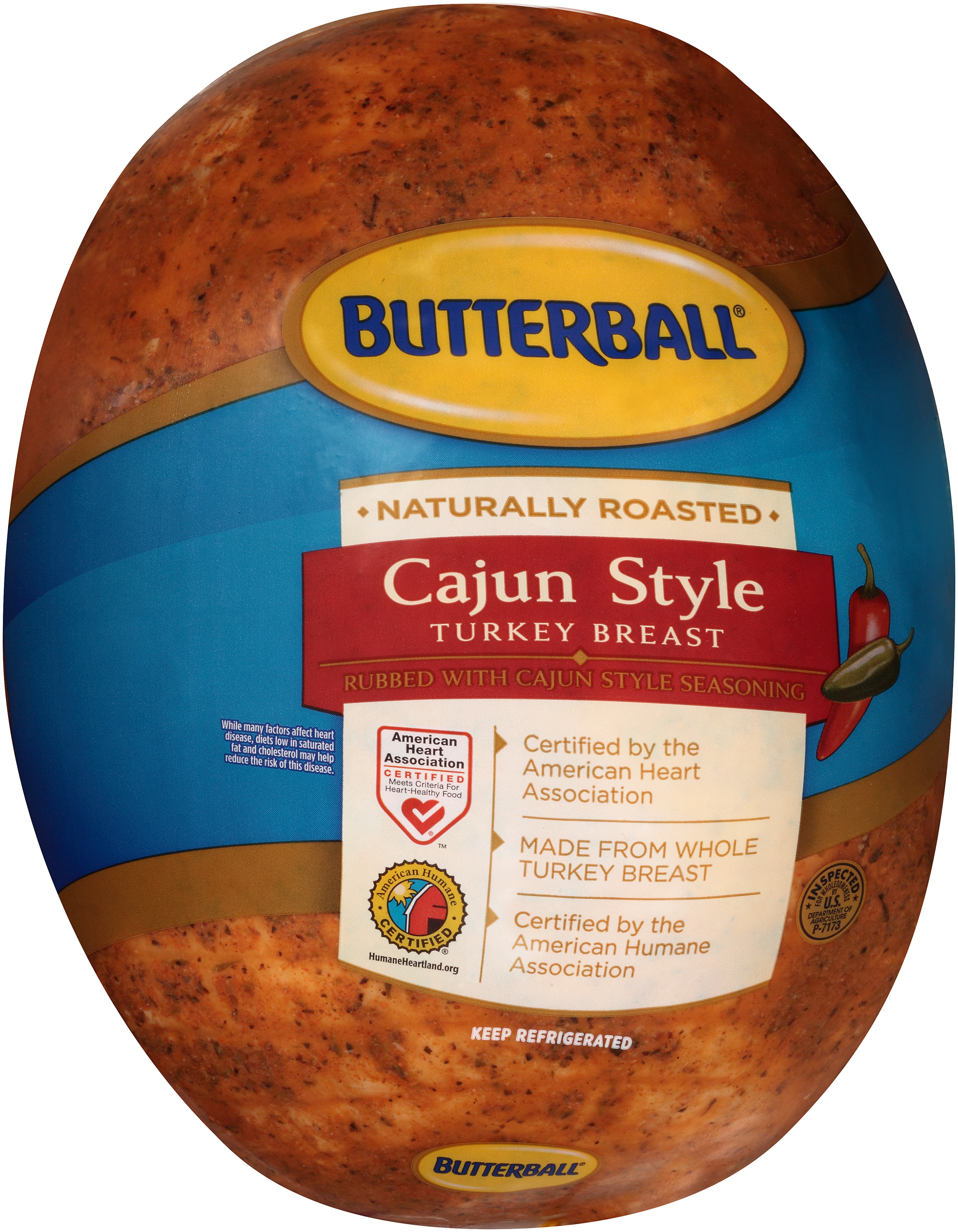 Butterball Cajun Turkey Breast Deli Sliced 1 lb