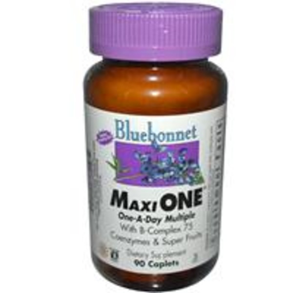Bluebonnet Nutrition Maxi One One-A-Day Full Spectrum Multivitamin & Multimineral Dietary Supplement Caplets