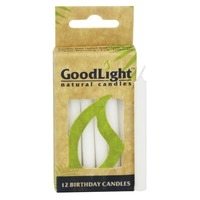 Goodlight Natural Candles Birthday Candles White