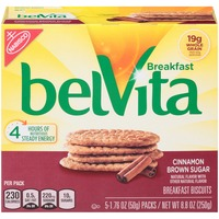 Nabisco Belvita Cinnamon Brown Sugar Breakfast Biscuits