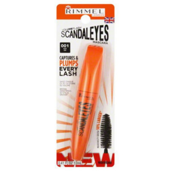 Rimmel Mascara, Volume, Black 001