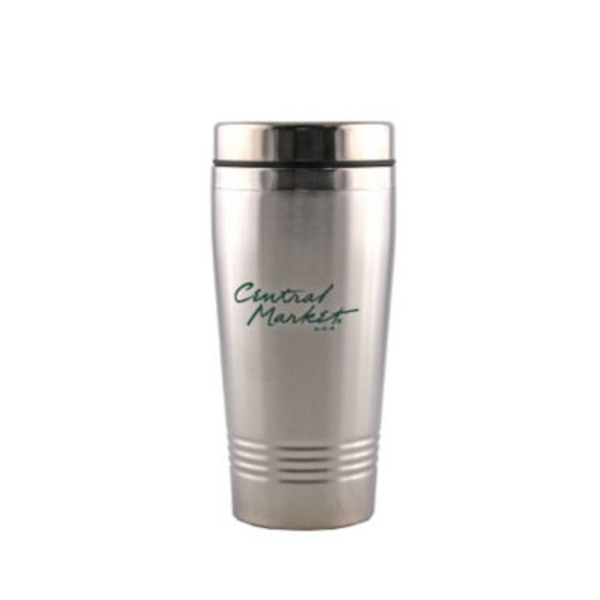 Central Market Stainless Steel Travel Mug