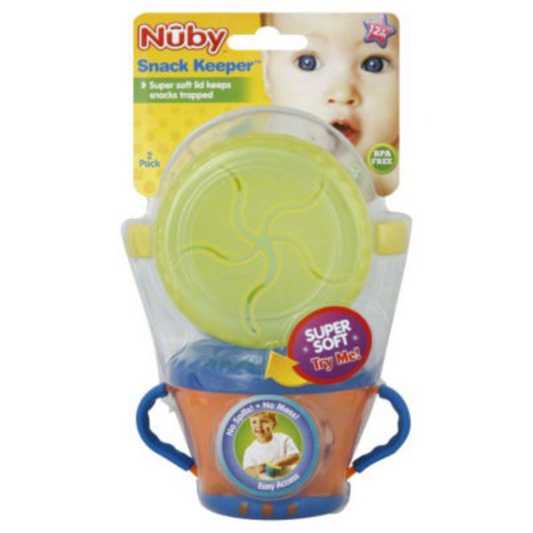 Nuby Snack Keeper - 2 CT