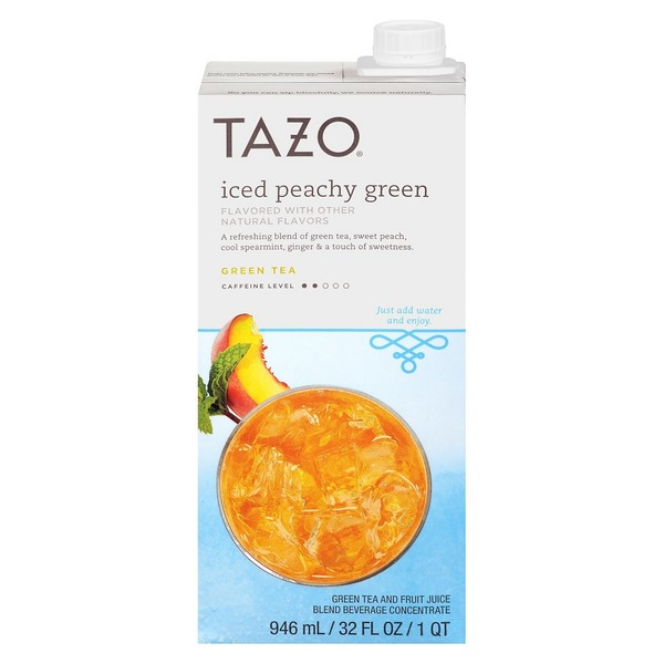 Tazo Tea Iced Peachy Green Tea Concentrate