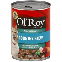 Ol Roy Hearty Cuts In Gravy Country Stew Dog Food, 13.2 Oz