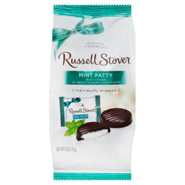 Russell Stover Mint Patties Mini Gusset