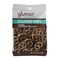 Glutino Gluten Free Fudge Covered Pretzels