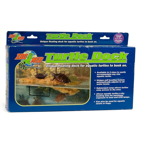 Zoo Med Turtle Dock Unique Floating Dock for Aquatic Turtle to Bask On