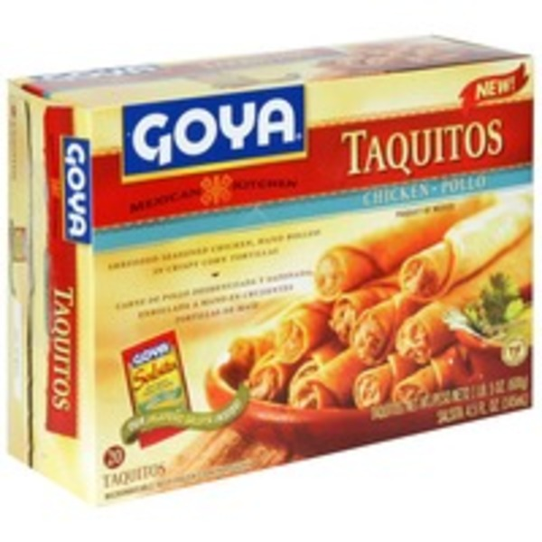 Goya Mexican Kitchen Chicken Taquitos