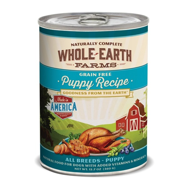 Whole Earth Farms Grain Free Puppy Recipe Food