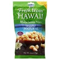 MacFarms Fresh From Hawaii Unsalted Natural Macadamia Nuts