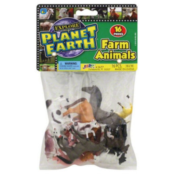 Ja-Ru Inc. Farm Animals
