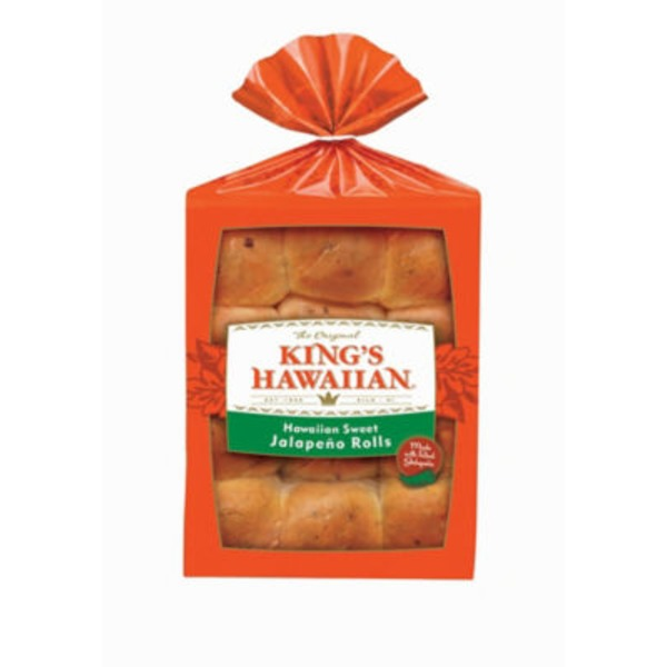 King's Hawaiian Sweet Jalapeno Rolls