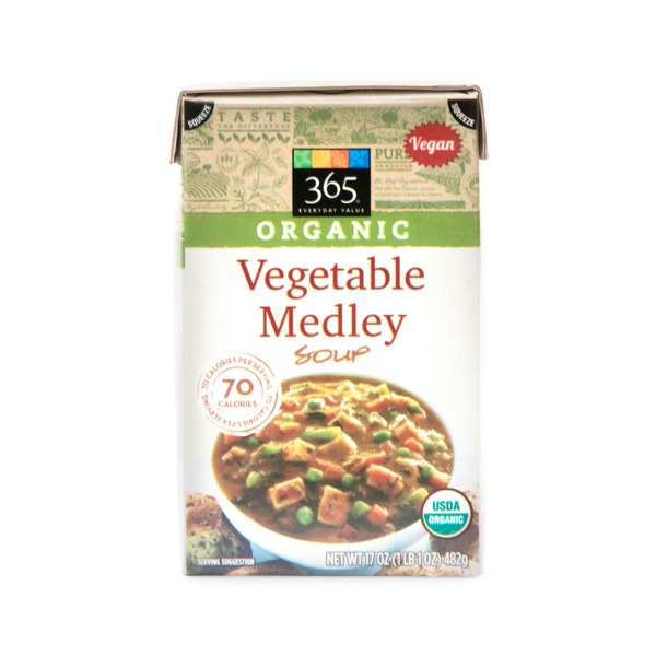 365 Organic Vegetable Medley Soup