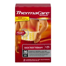 ThermaCare Advanced Back Pain Therapy (2 Count, L-XL Size) Heatwraps, Up to 16 Hours Pain Relief, Lower Back, Hip Use, Temporary Relief of Muscular, Joint Pains