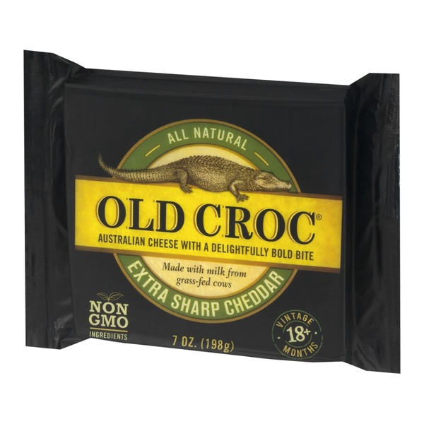 Old Croc Extra Sharp Australian Cheddar Cheese