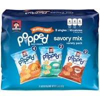 Popped Savory Mix Variety Pack Cheddar Cheese/Creamy Ranch/BBQ Rice Crisps