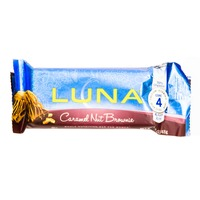 Luna® Caramel Walnut Brownie Nutrition Bar