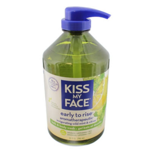 Kiss My Face Bath & Body Wash, Aromatherapeutic, Early to Rise