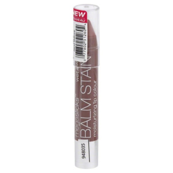 Wet n' Wild Megaslicks Balm Stain Moisturizing Lip Colour 126 Rico Mauve