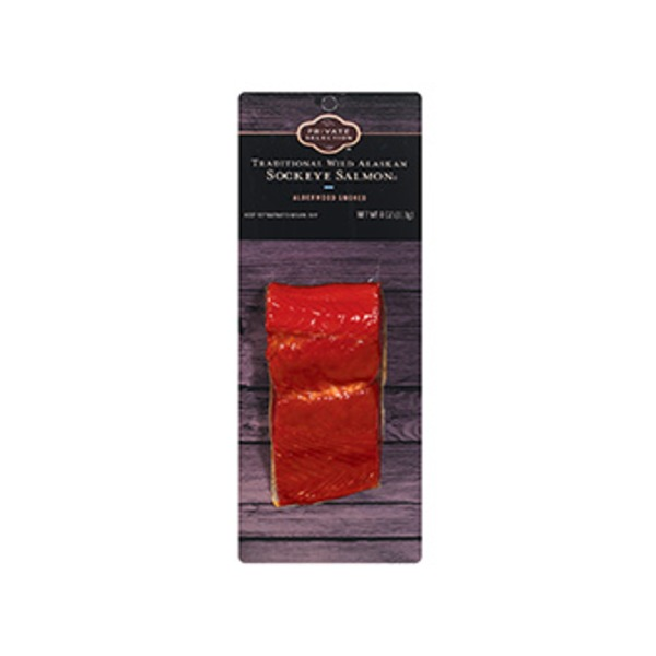 Kroger Private Selection Traditional Wild Alaskan Sockeye Salmon
