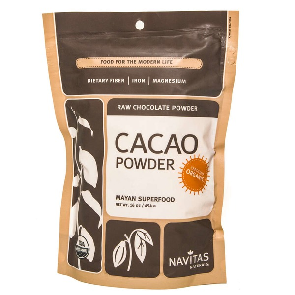 Navitas Naturals Certified Organic Raw Chocolate Powder