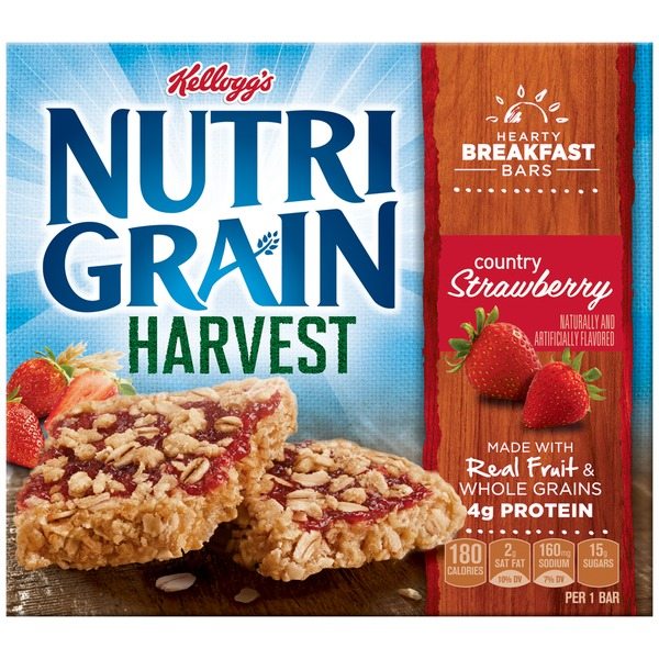 Kellogg's Nutri-Grain Harvest Country Strawberry Breakfast Bars