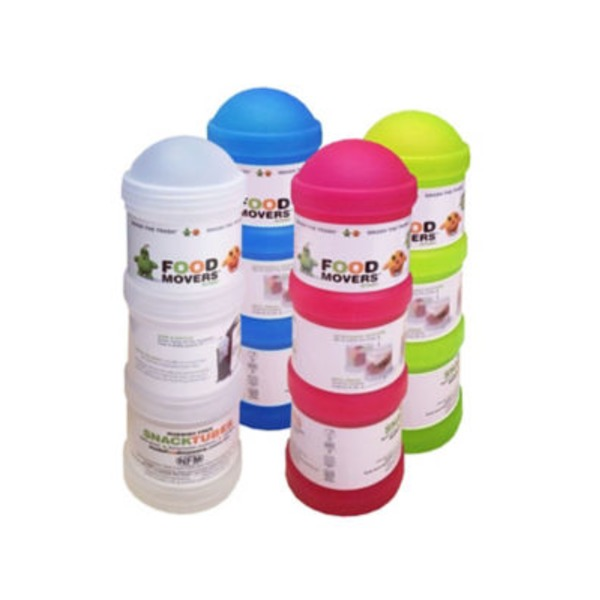 Urman Snack Tubes Triple Food Movers