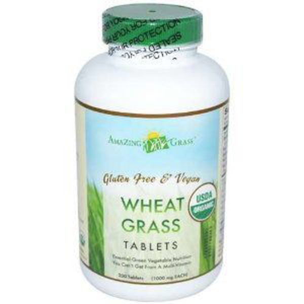 Amazing Grass Wheat Grass 1000 Mg Tablets