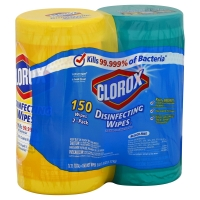 Clorox Disinfecting Wipes Fresh Scent & Lemon Scent Twin Pack - 2