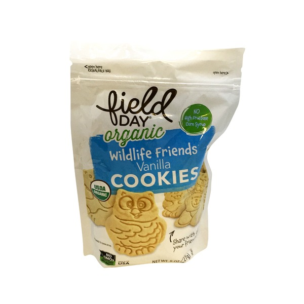 Field Day Wild Friends Vanilla Cookie