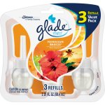 Glade Plug In Refill, Hawaiian Breeze, 2.01 Fl. Oz. (Pack of 3)