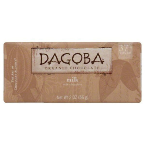 Dagoba Organic Milk Chocolate