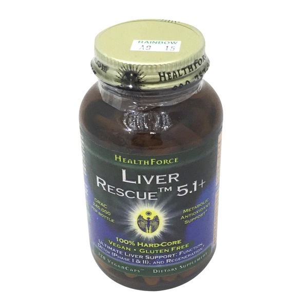 HealthForce Nutritionals Liver Rescue 5+