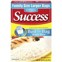 Success Boil-In-Bag White 6 Ct Rice