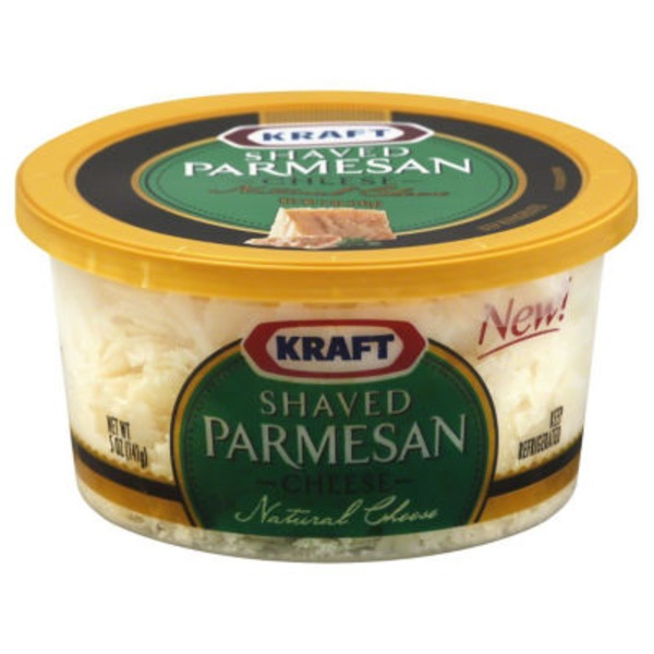 Kraft Grated Cheese Shaved Parmesan Cheese