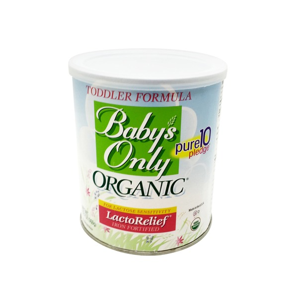Baby's Only Organic LactoRelief Iron Fortified Toddler Formula