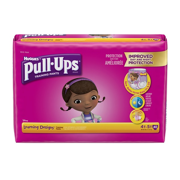 Huggies Pull‑Ups Girls Learning Designs Training Pants 4T-5T