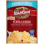 Idahoan Four Cheese Mashed Potatoes Family Size pouch, 8 (1/2 cup) servings