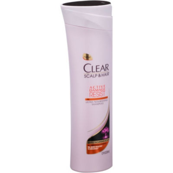 Clear Scalp & Hair Active Damage Resist Ultra Nourishing Shampoo