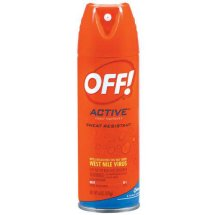 OFF! Active Sweat Resistant Insect Repellent 1, 6 oz