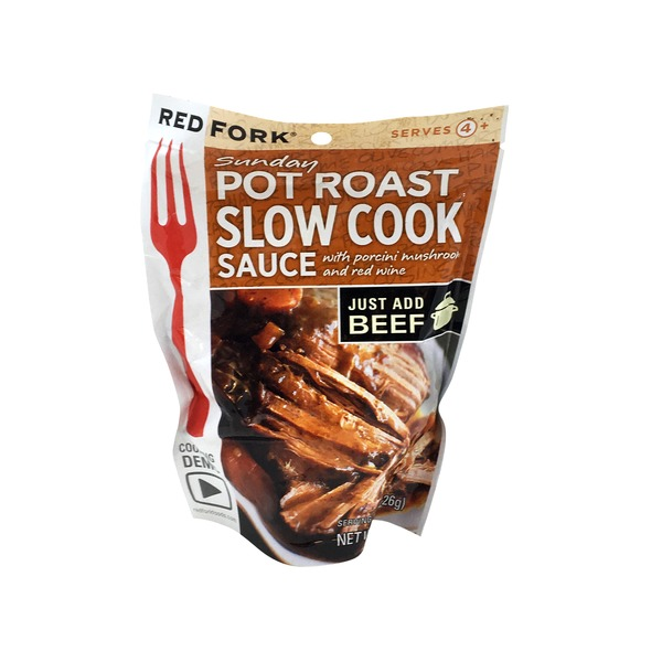 Red Fork Sunday Pot Roast Slow Cook Sauce